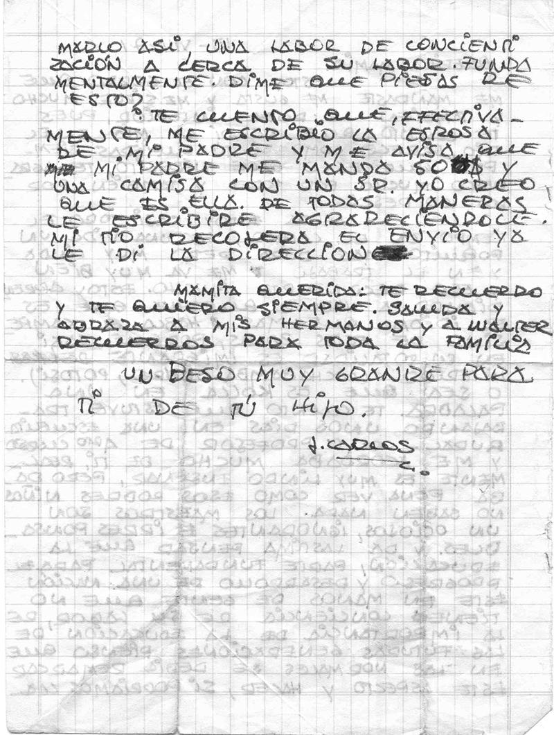 carta a mama 1