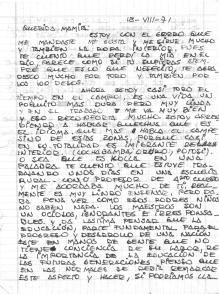carta a mama