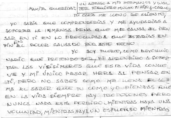 Carta JO carcel