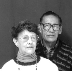 Walter Solón y Gladys Oroza