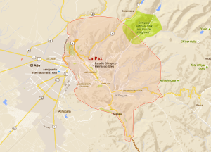 La Paz 472 Km2