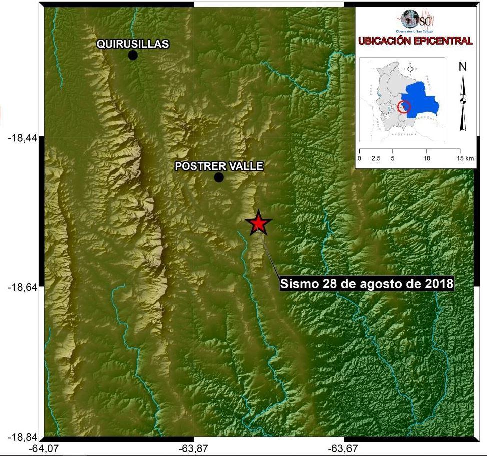 mapa zona sismo 28 ago 2018